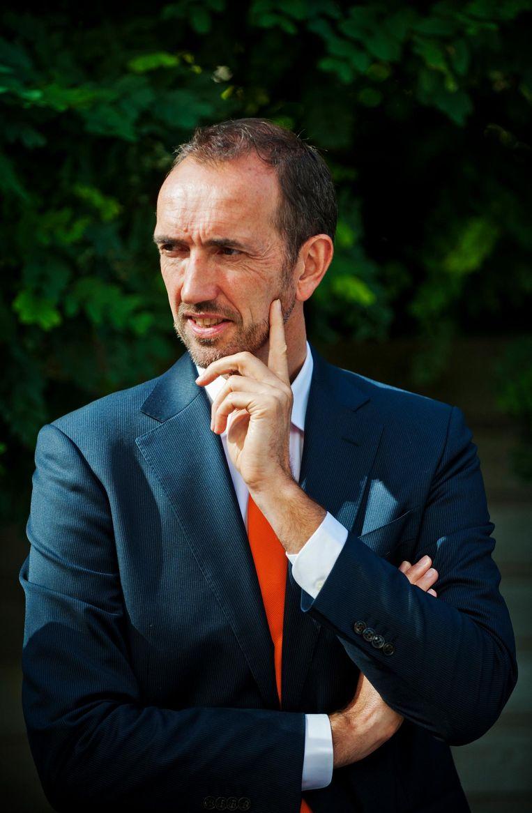 Peter Blangé. Beeld anp