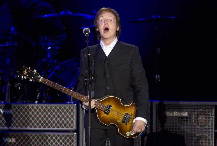 Paul McCartney staat dit jaar op Pinkpop. Beeld anp