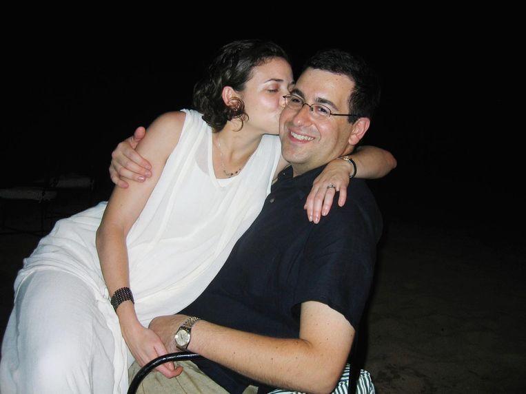 Cheryl Sandberg en haar man Dave Goldberg. Na zijn overlijden schreef ze een boek over het betere rouwen. Beeld null