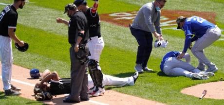 Effrayante collision entre deux joueurs de baseball