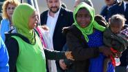 Protectionistisch Italië verwelkomt 51 kwetsbare migranten uit Afrika