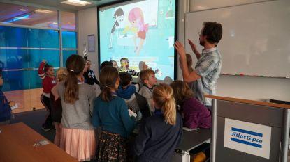 Atlas Copco maakt kinderen warm voor wetenschap met computerspel