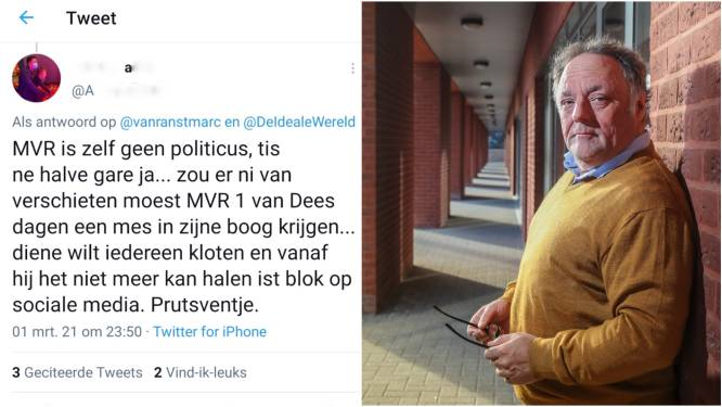 Viroloog Marc Van Ranst bedreigd, mogelijk vanuit Wervik: politie maakt proces-verbaal op