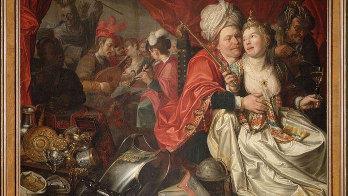 'Vrouw Wereld', van Jacob Waben, uit 1622.