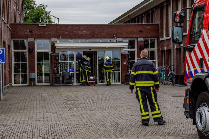 Brandje in slaapkamer Kloosterhoeve in Raamsdonksveer.