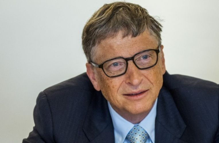 null Beeld Bill Gates. ANP