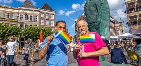 Hongerstaking 'dankbare' Saif voorbij: in Zwolle kan hij integreren in LHBTI-gemeenschap
