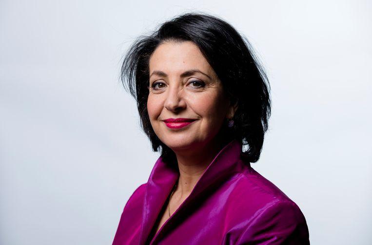 Khadija Arib is als nummer twee op de PvdA-lijst de eerst aangewezene om lijsttrekker te worden. Maar zij heeft vooral ambities voorzitter van de Tweede Kamer te blijven. Beeld  Bart Maat / ANP