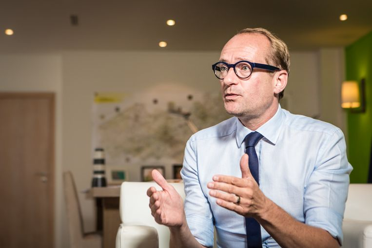 Ben Weyts: 'Het staat Hendrik vrij oppositie te voeren, maar hij zal niet tekeergaan tegen een regeerakkoord dat hij zelf heeft geschreven.' Beeld Jan Aelberts