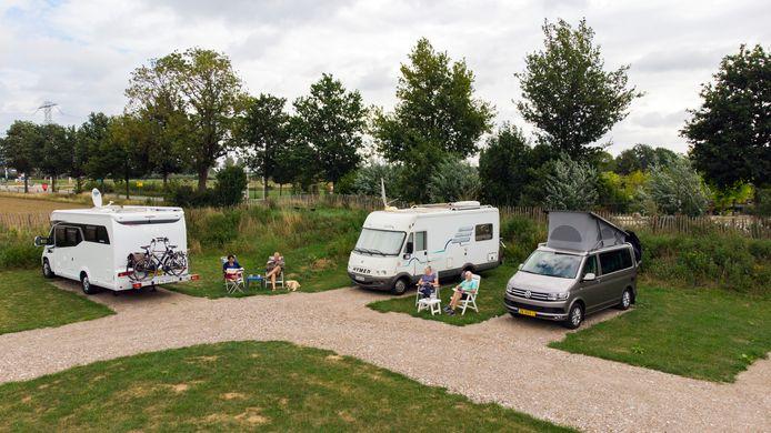 Camperaars bij B&B en camperplaats Holtsehoek in Balgoij.