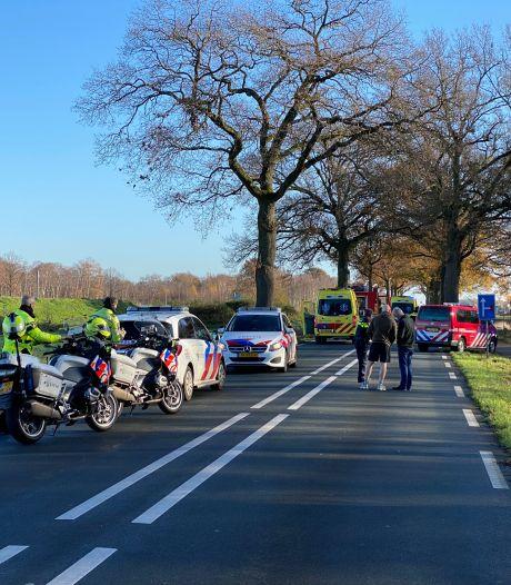 Persoon overleden bij eenzijdig ongeval in Nijverdal, Wierdensestraat afgesloten