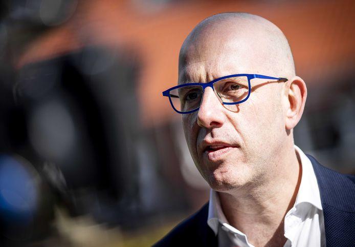 Gijs de Jong, secretaris-generaal van KNVB.