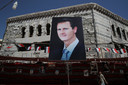 Bashar al-Assad in Douma