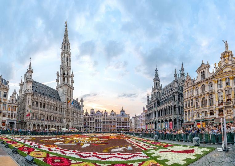 Brussel blijft gegeerd bij de toeristen.