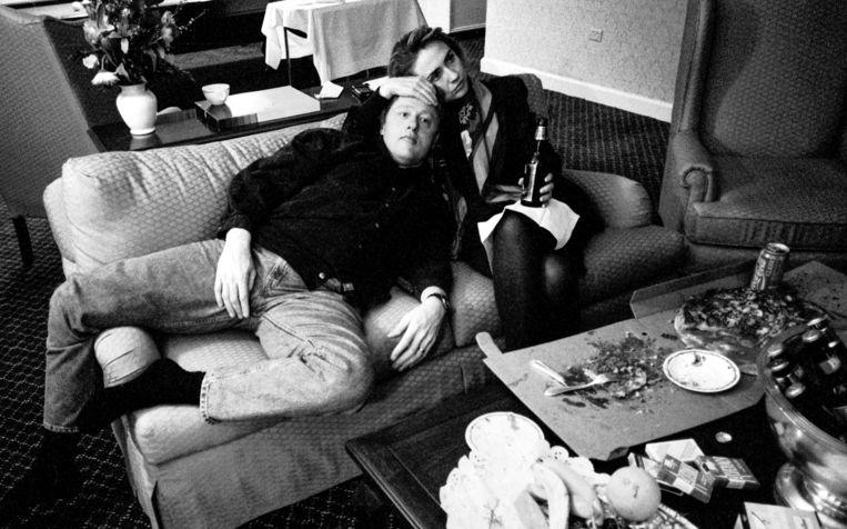 Archiefbeeld van Bill en Hillary Clinton. Beeld VRT