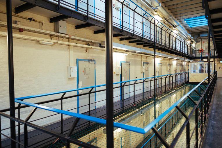 De cellen van 11 vierkante meter Beeld Marc Driessen