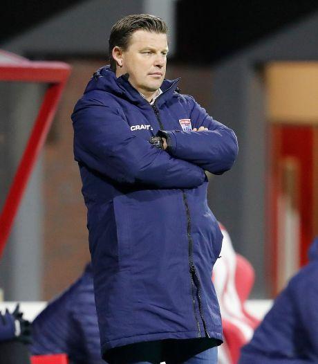 PEC Zwolle ontslaat trainer John Stegeman: 'Het sentiment werd steeds negatiever'