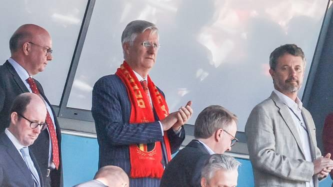 Ook koning Filip komt Rode Duivels aanmoedigen in Kopenhagen