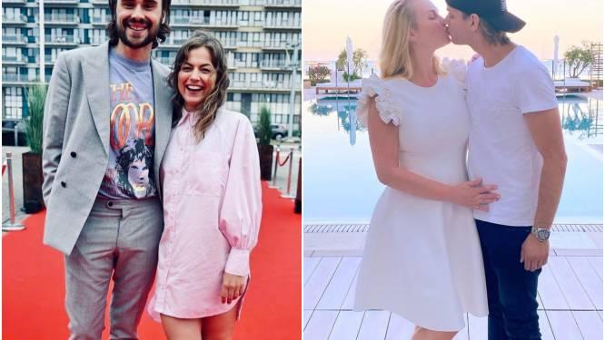 SHOWBITS. Frances Lefebure zet haar lievelingsman in de kijker en Lesley-Ann Poppe zit op Ibiza