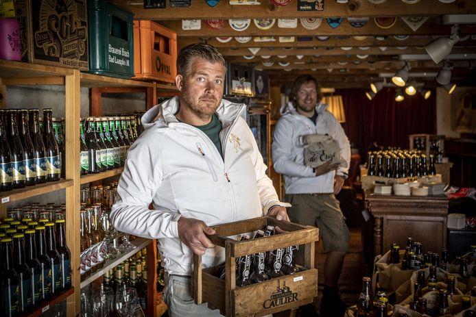Bas Boerrigter in zijn Biergarage.