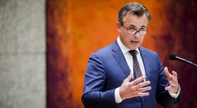 Staatssecretaris Mark Harbers van Justitie en Veiligheid (VVD).