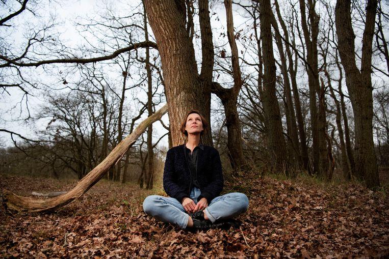 Annette Lavrijsen: 'De natuur geeft mij zingeving, rust en helderheid van geest.' Beeld Olaf Kraak