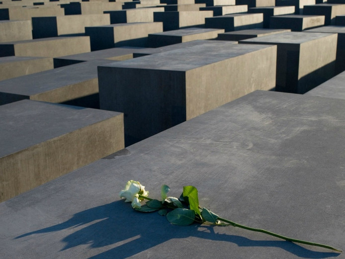 Het Holocaust-monument in Berlijn. Foto: EPA