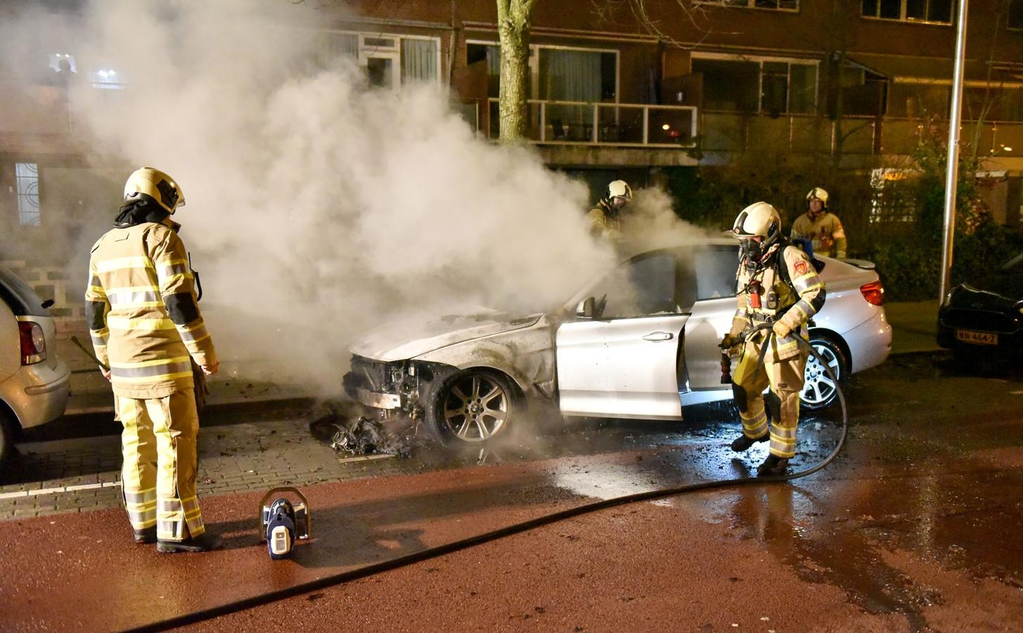 Autobrand in Kanaleneiland.