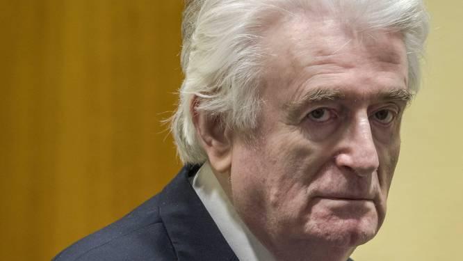 Karadzic zal rest van straf voor genocide uitzitten in Britse cel