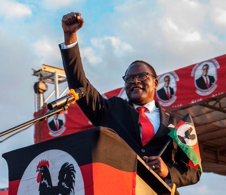 Lazarus McCarthy Chakwera. Beeld AFP