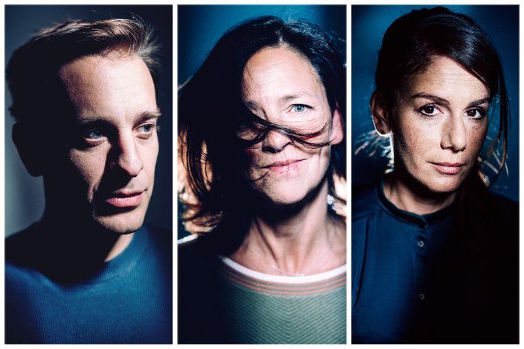 Sam De Bruyn, Els Dottermans en Fatma Taspinar. Beeld Stefaan Temmerman
