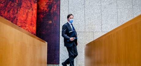 Rutte: 'Geen EK-schermen op terrassen, dat wordt te druk'
