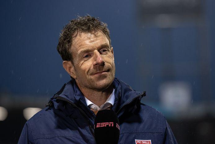 Bert Konterman was uiteraard tevreden na de 1-0 zege op FC Twente. ,,Dit hadden we echt nodig.''