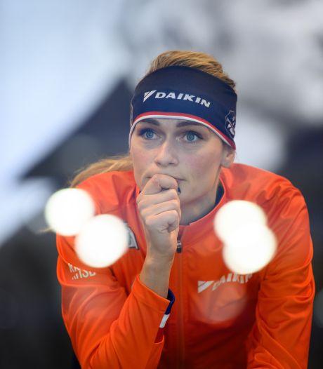 Wereldkampioen en daarna eindelijk op natuurijs: 'Ik had bewust niet op social media gekeken'