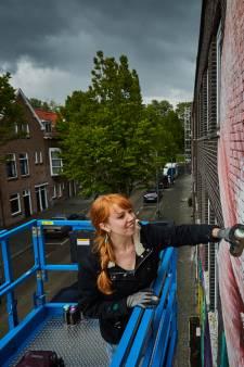 Kunst op slooppanden geeft Bloemhof een goede vibe