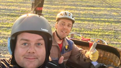 Zwevegemnaar legt in 11,5 uur tijd 1.011 km af met luchtballon en breekt zo 2 Belgische records