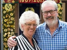 Serenade voor gouden echtpaar Piet en Mieke uit Rosmalen