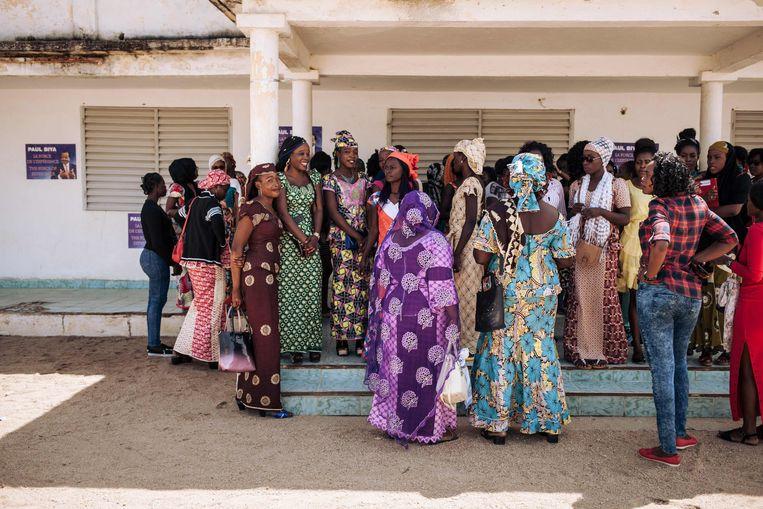 Een groepje Kameroense vrouwen. Homoseksualiteit wordt in het Afrikaanse land zwaar bestraft.