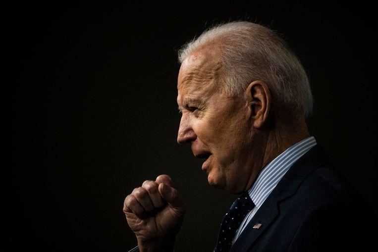 Amerikaans president Joe Biden. Beeld n