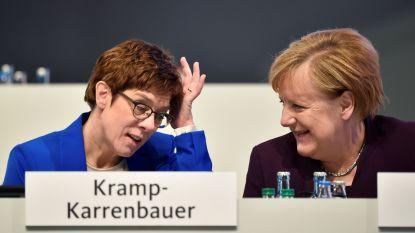 Uitverkoren 'troonopvolgster Merkel', Annegret Kramp-Karrenbauer, wil geen bondskanselier worden en geeft partijvoorzitterschap op