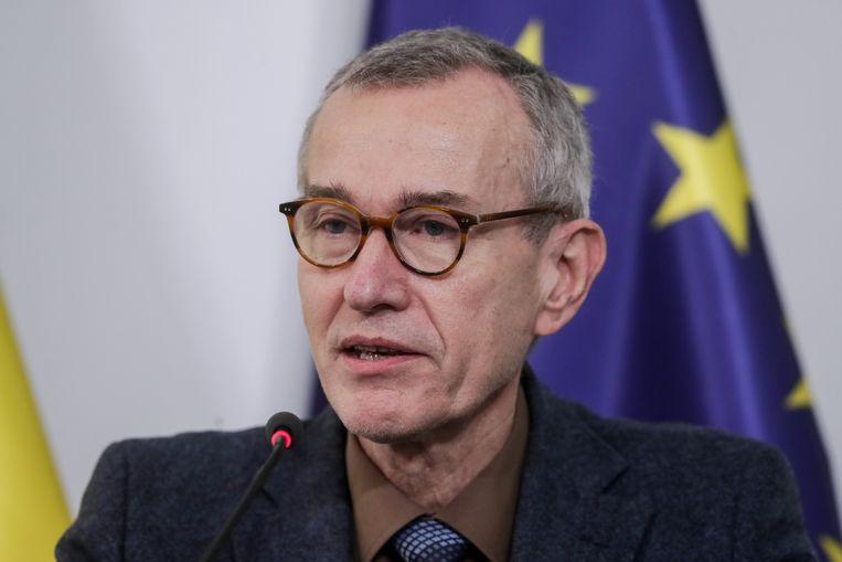 Minister van Volksgezondheid Frank Vandenbroucke (sp.a)  Beeld Photo News