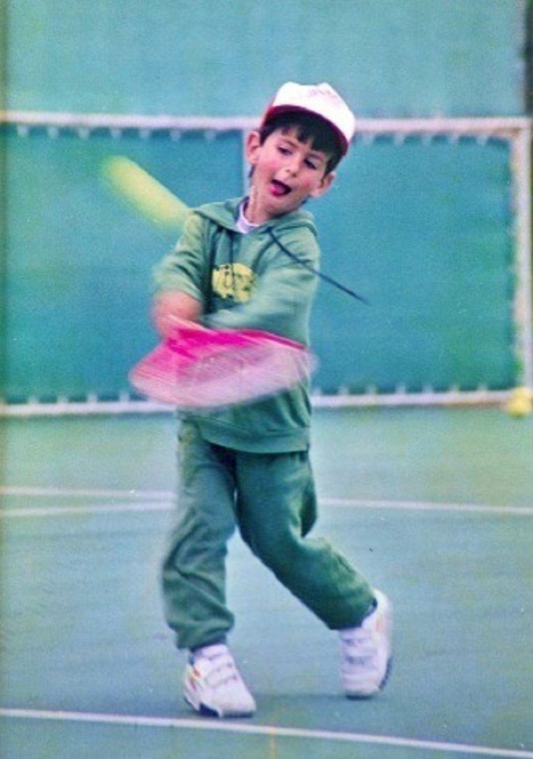 De kleine Novak Djokovic. Beeld TRBeeld