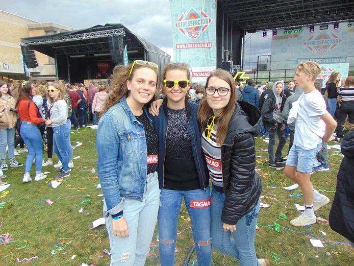 Laure Baele, Eline Robaeys en Elien Noppe.