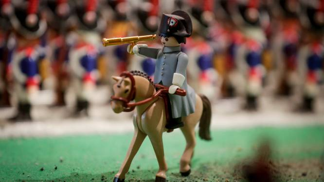 Napoleon herleeft in Playmobil-expo Waterloo