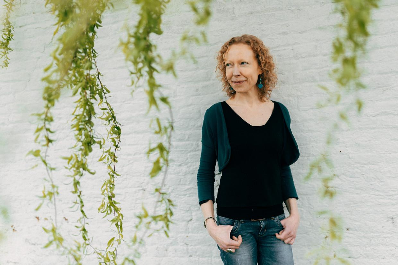 Griet Vandermassen. Beeld Illias Teirlinck