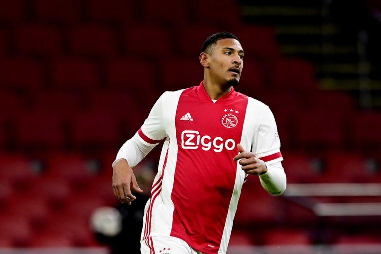 De grote man van afgelopen woensdag met twee goals tegen PSV: Sébastien Haller. Beeld ANP