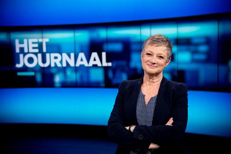 Aanleiding voor de reeks is het dit jaar veertigjarige nieuwsankerschap van Martine Tanghe bij 'Het Journaal'. Beeld © VRT - Lies Willaert