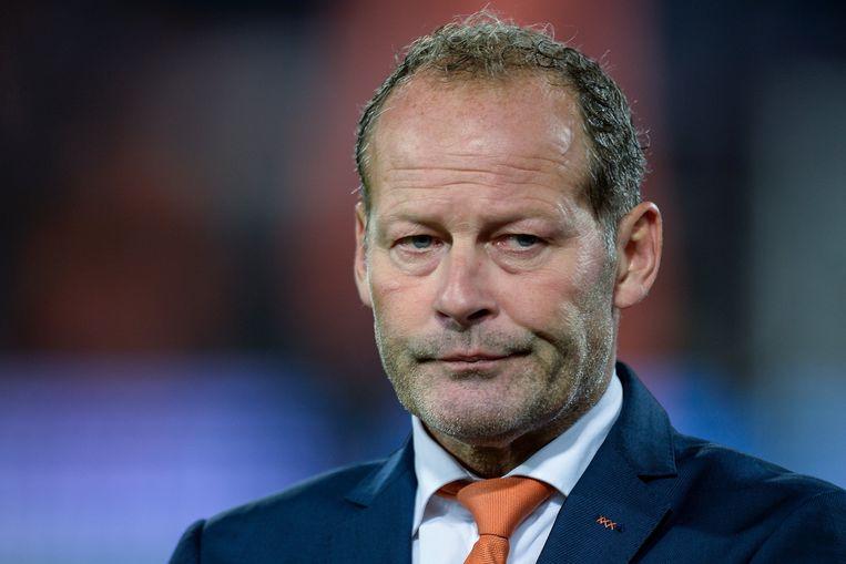 Ex-bondscoach Danny Blind werd vorig weekend de laan uitgestuurd bij Oranje.