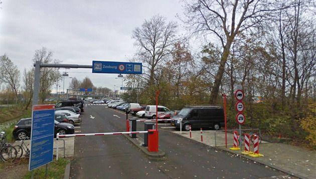 P+R Zeeburg Foto Google Streetview