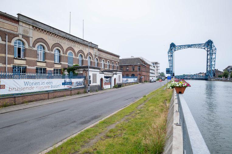 Op de site van voormalige papierfabriek De Naeyer in Willebroek werd ook een PFOS-vervuiling vastgesteld. Beeld David Legreve